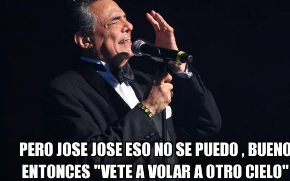 Los Memes De José José Por Su Dipsomanía Y Letras De