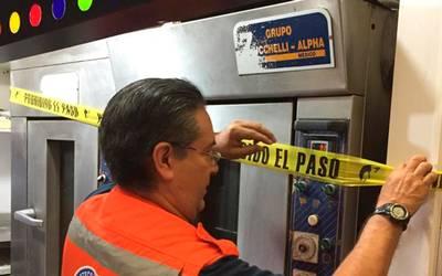Resultado de imagen para Metro suspensión en 10 locales comerciales