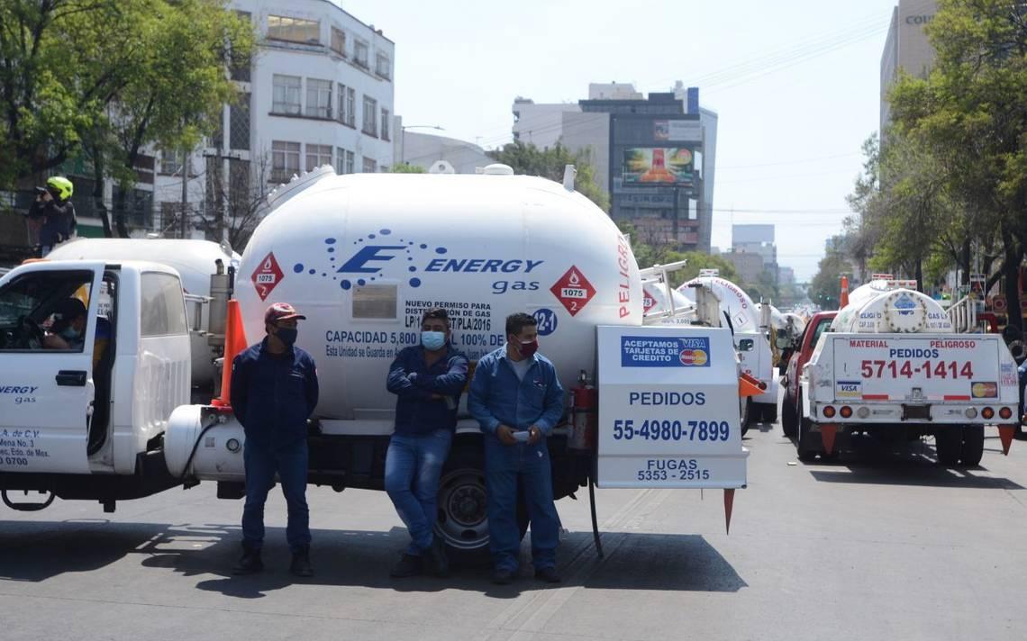 Gaseros inician paro en CDMX y Edomex - La Prensa   Noticias policiacas,  locales, nacionales