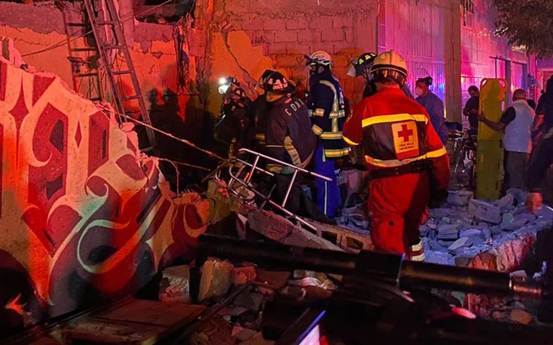 ▷ Fuerte explosión de gas en la colonia Morelos dejó 2 muertos y 25 heridos - Noticias Mexico
