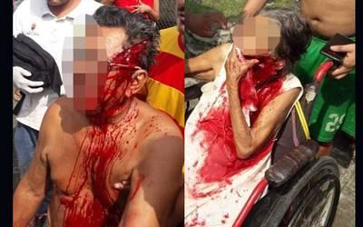 Resultado de imagen para ataca a sus abuelos con un machete en Chiapas